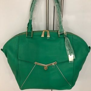 Botkier Large green leather Valentina Tote
